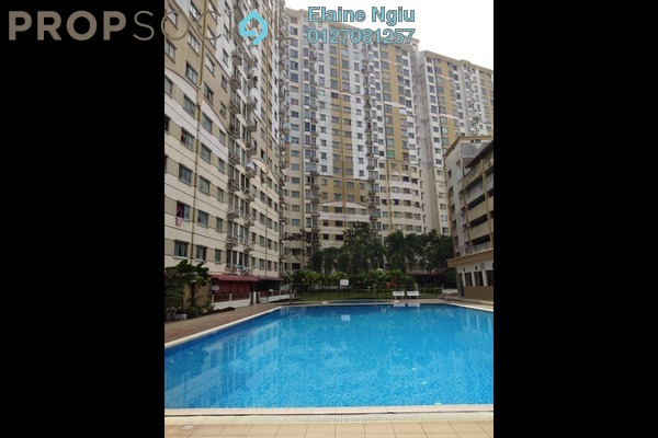 For Sale Condominium at Vista Impiana Apartment, Seri Kembangan Freehold Unfurnished 1R/1B 160k