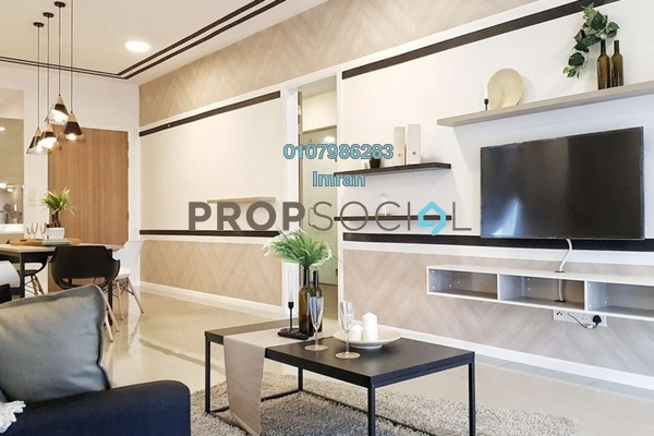 For Rent Condominium at Anjali @ North Kiara, Segambut Freehold Fully Furnished 3R/4B 4.8k