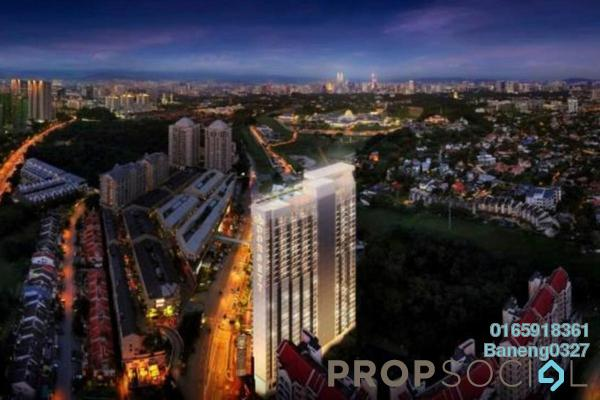For Sale Condominium at Plaza Damas 3, Sri Hartamas Freehold Fully Furnished 1R/1B 560k
