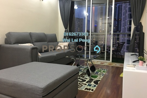 For Rent Serviced Residence at Casa Mutiara, Pudu Freehold Fully Furnished 2R/2B 2.6k