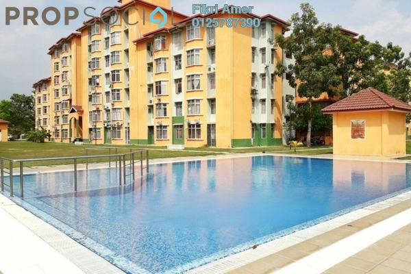 For Sale Apartment at Taman Putra Perdana, Puchong Leasehold Unfurnished 3R/2B 215k