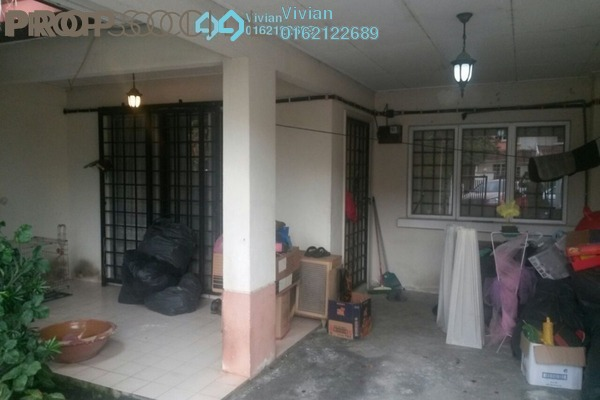 For Sale Terrace at Sungai Congkak, Bukit Rimau Freehold Semi Furnished 4R/3B 630k