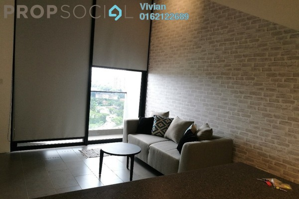 For Sale Condominium at The Establishment, Brickfields Freehold Fully Furnished 1R/1B 600k