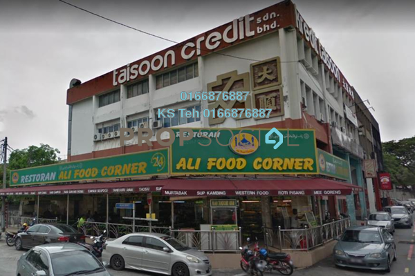 For Rent Shop at Taman Pertama, Cheras Freehold Unfurnished 0R/1B 25k