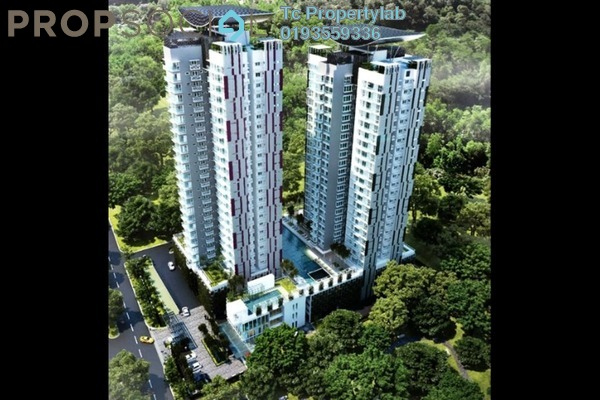 For Sale Condominium at Duet Residence, Bandar Kinrara Freehold Fully Furnished 3R/1B 710k