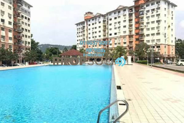 For Sale Condominium at Sri Hijau, Bandar Mahkota Cheras Freehold Semi Furnished 3R/2B 270k