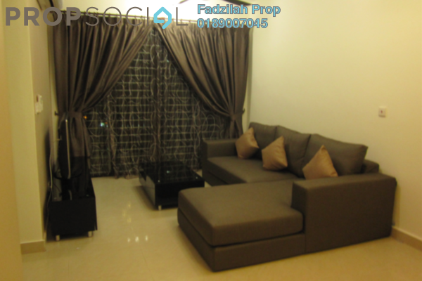 For Rent Condominium at Rivercity, Sentul Freehold Fully Furnished 3R/2B 2.4k