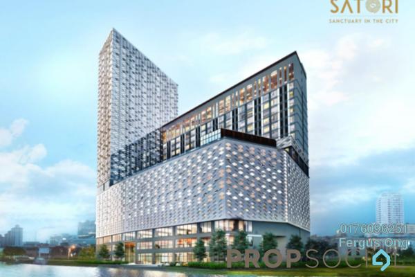 For Sale Condominium at Satori, Melaka Freehold Fully Furnished 1R/1B 315k