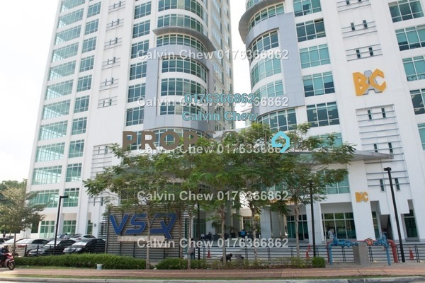 For Sale Office at V Square, Petaling Jaya Freehold Unfurnished 0R/1B 580k