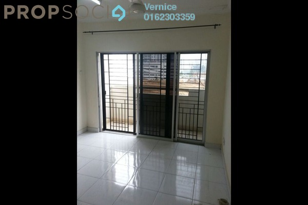 For Sale Condominium at Villa Pavilion, Seri Kembangan Freehold Unfurnished 3R/3B 363k