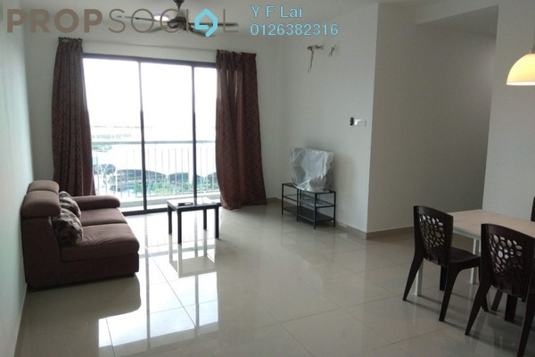 For Rent Condominium at Parkhill Residence, Bukit Jalil Freehold Fully Furnished 3R/2B 2.2k