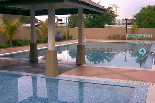 For Rent Apartment at Vista Mutiara, Kepong Freehold Semi Furnished 3R/2B 1.2k