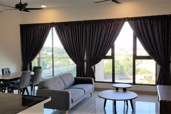 For Rent Condominium at CitiZen, Old Klang Road Freehold Semi Furnished 3R/2B 2.6k