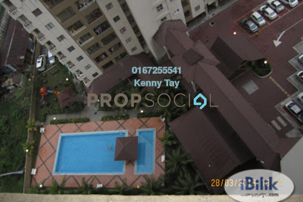 For Rent Condominium at Vista Mutiara, Kepong Freehold Semi Furnished 3R/2B 1.2k