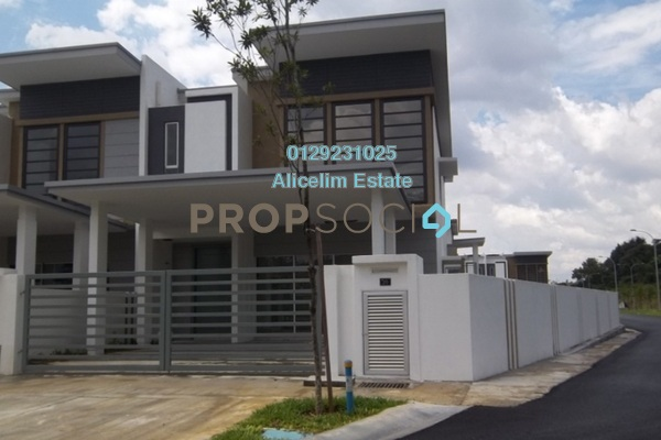 For Sale Terrace at Garden Park Homes, Cahaya SPK Freehold Semi Furnished 6R/5B 1.13m