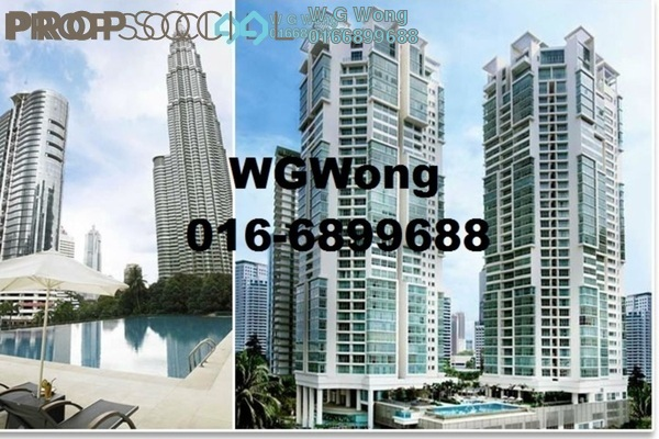 For Sale Condominium at Marc Service Residence, KLCC Freehold Fully Furnished 1R/1B 790k