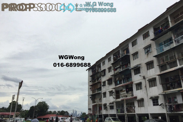 For Sale Apartment at Taman Mulia Jaya, Ampang Leasehold Fully Furnished 2R/1B 98k