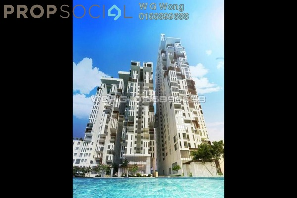 For Sale Condominium at Icon Residence (Mont Kiara), Dutamas Freehold Fully Furnished 1R/2B 1.2m