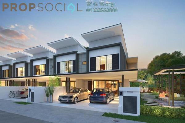 For Sale Terrace at Semenyih Sentral, Semenyih Freehold Unfurnished 4R/3B 508k