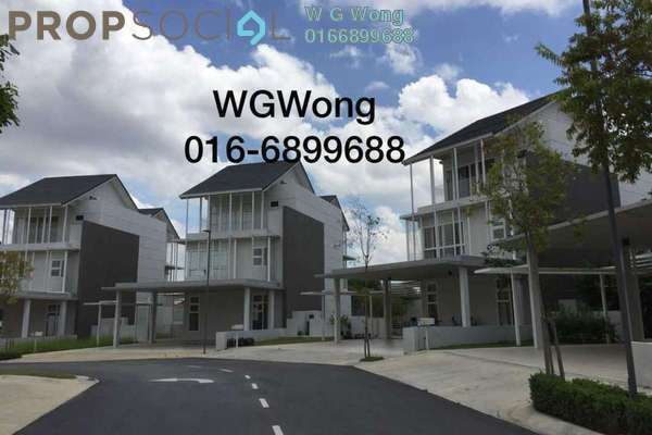 For Rent Villa at Senja, Seri Kembangan Freehold Semi Furnished 5R/7B 8k