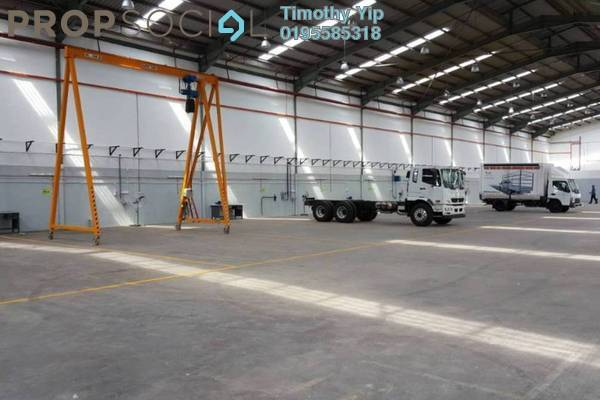 For Sale Factory at Kampung Telok Gong , Port Klang Freehold Semi Furnished 2R/2B 8.8m