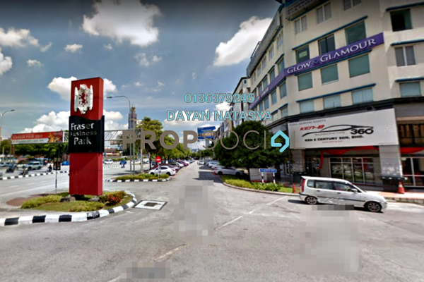 For Rent Shop at Fraser Business Park, Sungai Besi Freehold Unfurnished 0R/0B 16k