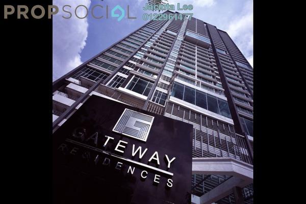 For Sale Serviced Residence at Gateway Kiaramas, Mont Kiara Freehold Semi Furnished 2R/3B 810k