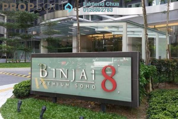 For Rent Office at Binjai 8, KLCC Freehold Semi Furnished 0R/2B 4k
