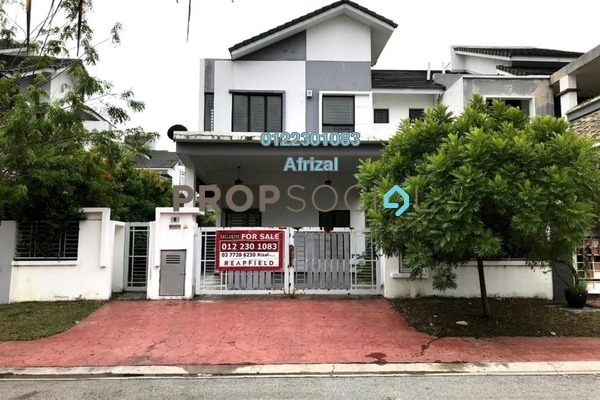 For Sale Semi-Detached at D'Kayangan, Shah Alam Freehold Semi Furnished 5R/5B 1.45m