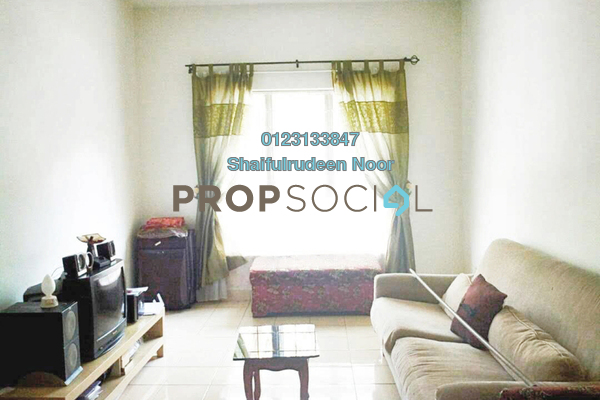 For Sale Apartment at Delima Apartment, Bukit Jelutong Freehold Semi Furnished 3R/3B 290k