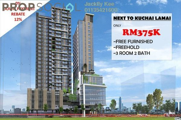 For Sale Serviced Residence at Kuchai East, Kuchai Lama Freehold Semi Furnished 1R/1B 423k
