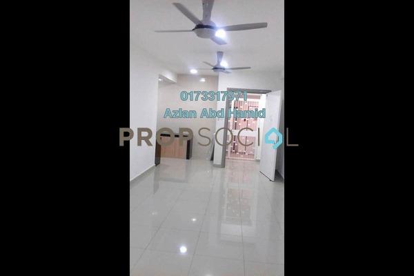 For Rent Condominium at Sentul Rafflesia, Sentul Freehold Semi Furnished 3R/2B 1.8k