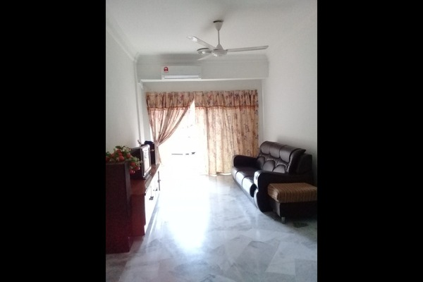 For Rent Condominium at Kestana Condominium, Bandar Menjalara Freehold Fully Furnished 3R/2B 1.4k
