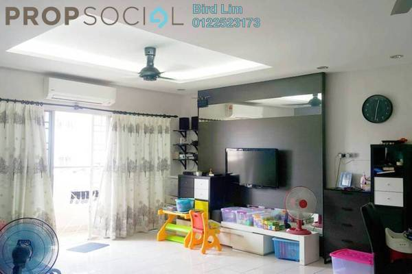 For Sale Terrace at Desa Saujana, Seri Kembangan Freehold Fully Furnished 3R/2B 278k