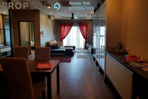 For Sale Condominium at Metropolitan Square, Damansara Perdana Freehold Fully Furnished 3R/3B 550k