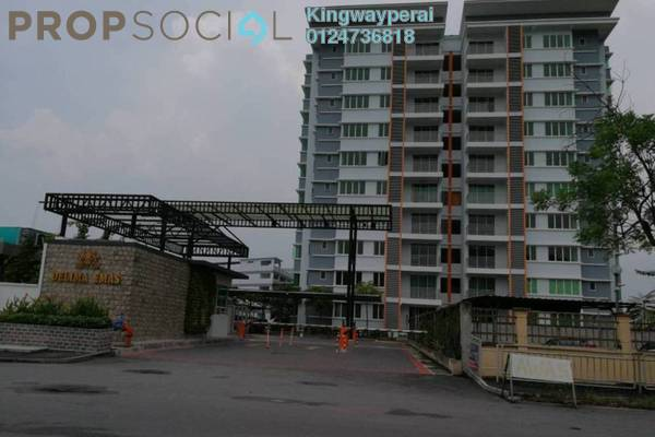 For Sale Apartment at Delima Impian Apartment, Juru Freehold Unfurnished 3R/2B 329k