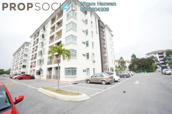 For Sale Apartment at Residensi Warnasari, Puncak Alam Freehold Fully Furnished 3R/2B 240k