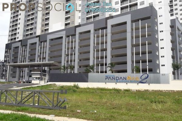For Rent Condominium at Residensi Pandanmas 2, Pandan Indah Freehold Semi Furnished 3R/2B 1.3k