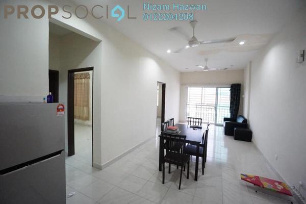 For Sale Apartment at Residensi Warnasari, Puncak Alam Freehold Semi Furnished 3R/2B 250k
