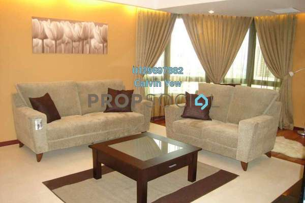 For Sale Condominium at i-Zen Kiara II, Mont Kiara Freehold Fully Furnished 5R/3B 940k