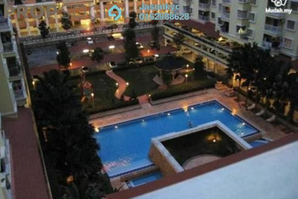 For Rent Condominium at Platinum Hill PV3, Setapak Freehold Semi Furnished 4R/2B 1.4k