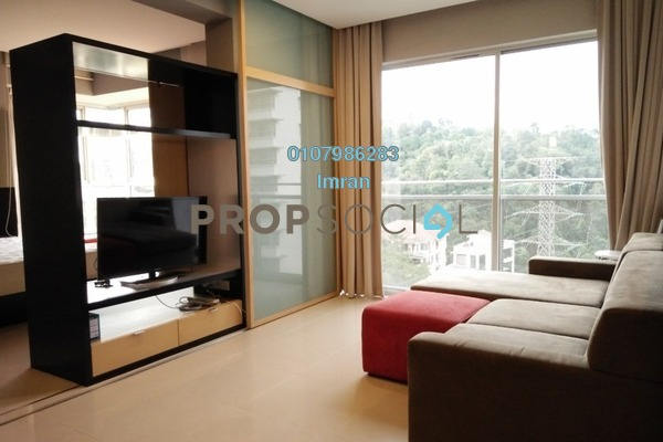 For Rent Serviced Residence at VERVE Suites, Mont Kiara Freehold Fully Furnished 2R/2B 3k