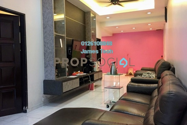For Sale Terrace at Taman Palm Grove, Klang Freehold Semi Furnished 2R/2B 478k