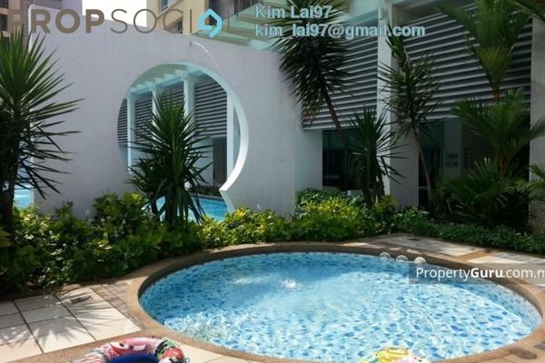For Rent Condominium at i-Zen Kiara I, Mont Kiara Freehold Semi Furnished 3R/2B 4.4k