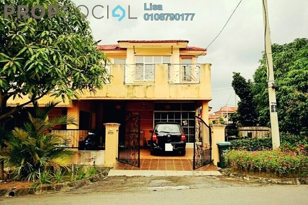 For Sale Terrace at Bandar Seri Astana, Sungai Petani Freehold Semi Furnished 4R/3B 370k