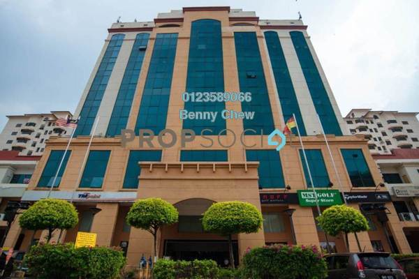 For Rent Office at SS6, Kelana Jaya Freehold Semi Furnished 0R/0B 16k