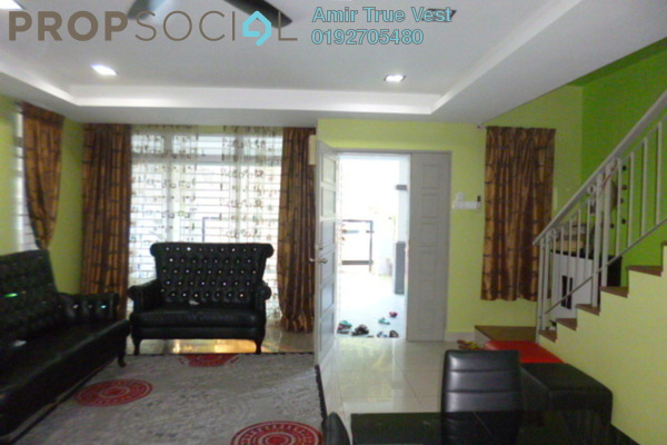 For Sale Terrace at Serenia Gardens, Ukay Freehold Semi Furnished 4R/3B 1.25m