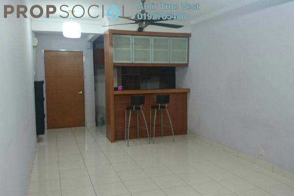 For Rent Condominium at Putra Villa, Gombak Freehold Semi Furnished 3R/2B 1.75k