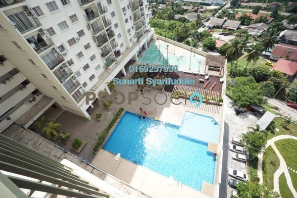 For Sale Condominium at Alam Idaman, Shah Alam Freehold Unfurnished 3R/2B 390k