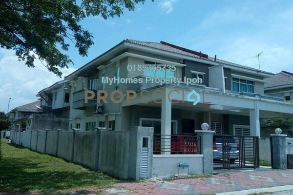 For Sale Semi-Detached at Tiara Lake Park, Ipoh Freehold Semi Furnished 4R/4B 425k